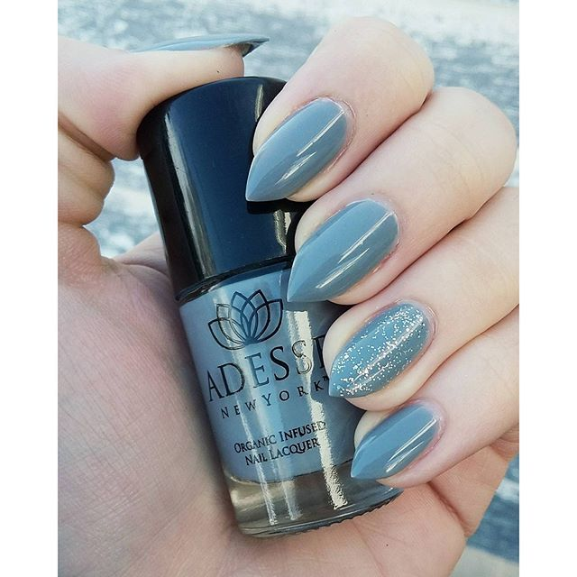 Product: Organic Infused Gel Effect Nail Lacquer in Irina by Adesse ...