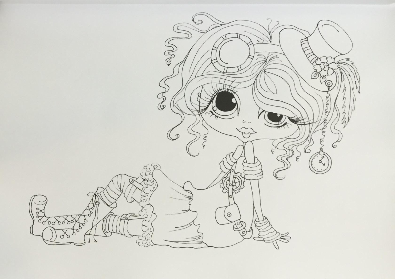Pin de Diane Matthews en Sheri Baldy colouring pages   Pinterest ...