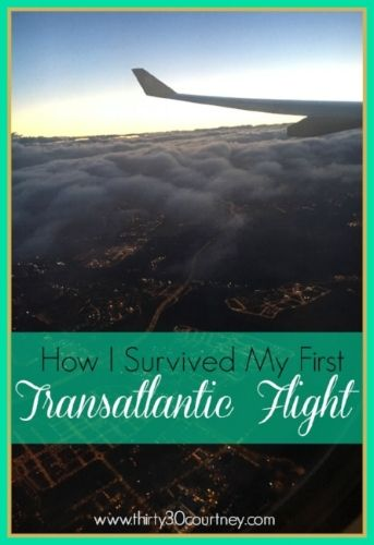 Are you afraid of flying? Scared about longhaul flights? I used to be. Read my post to find out what I did to survive my first transatlantic flight on www.thirty30courtney.com