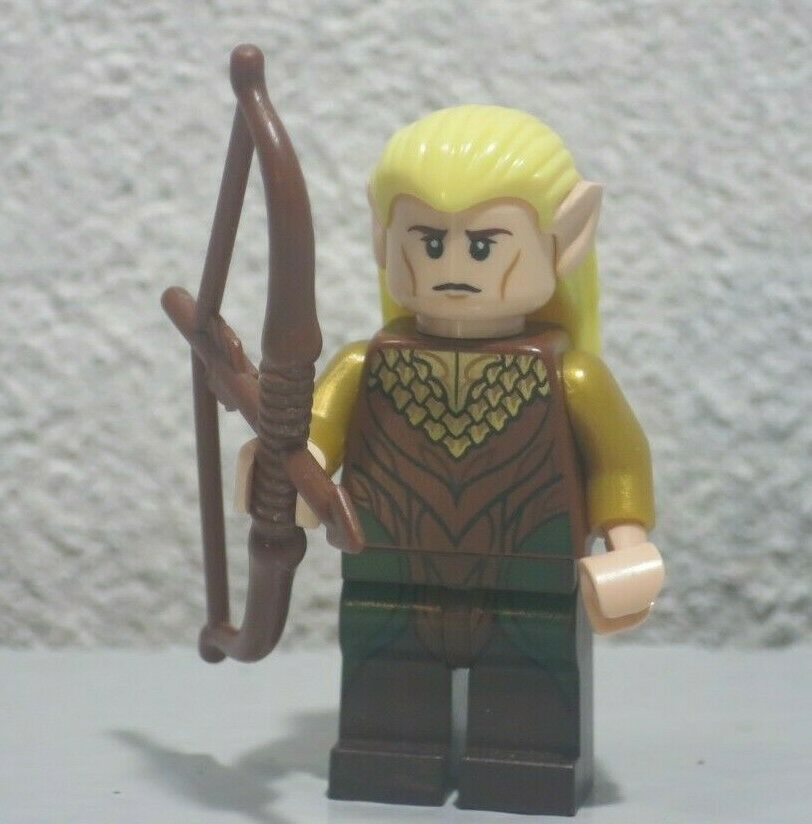 Minifigure The Hobbit Legolas Greenleaf LEGO 79001 Mini Fig