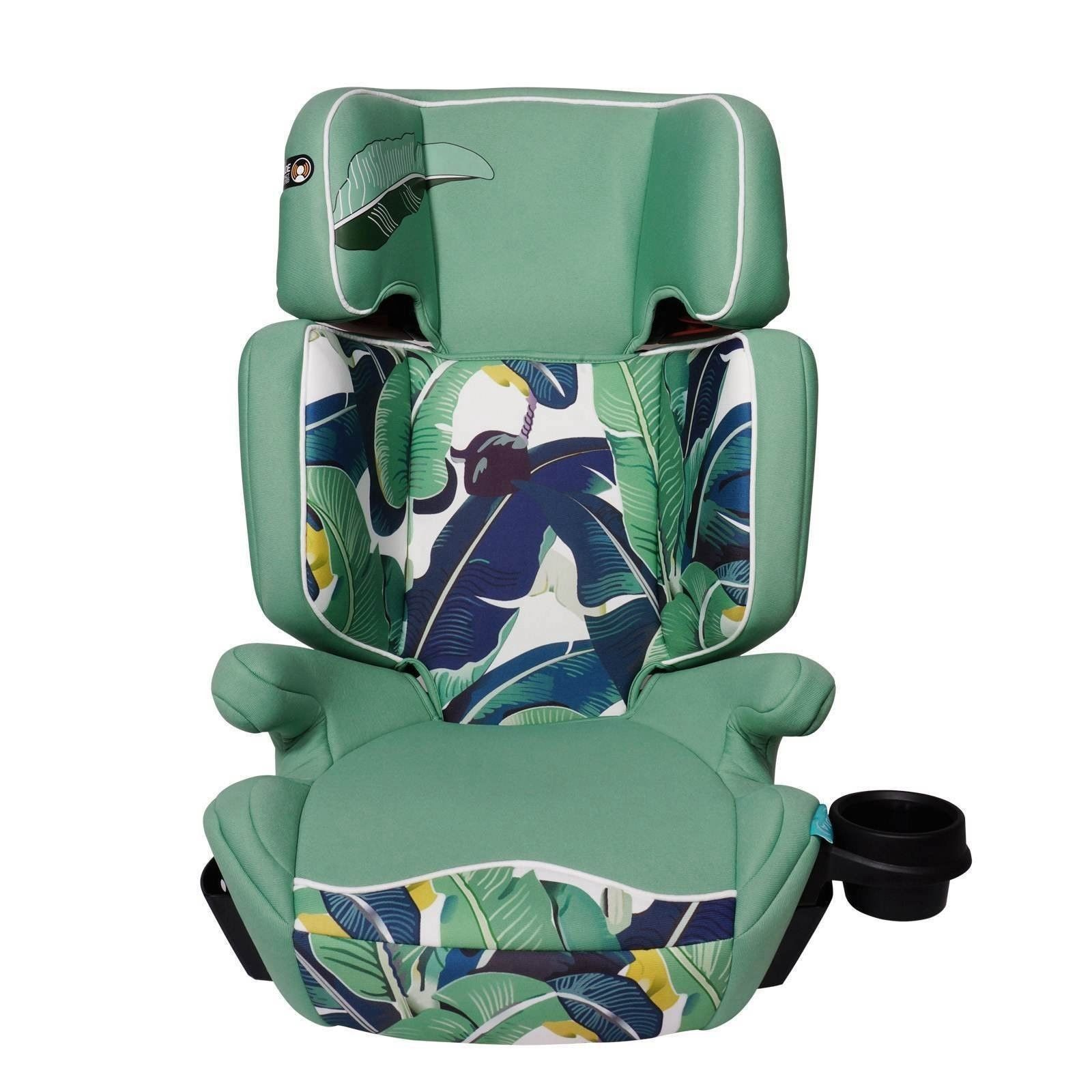 Aidia Explorer 2in1 Safety Booster Car Seat, Green/Blue