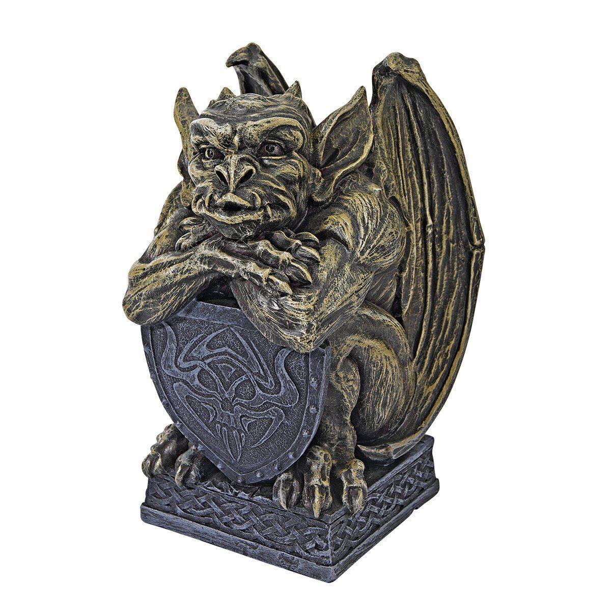 amazon com design toscano medieval marauder gargoyle statue