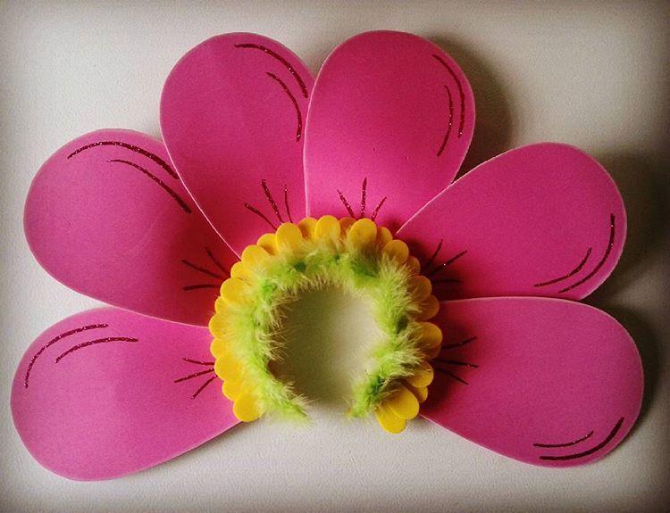 Foami Disfraz De Flor Para Nina Casero