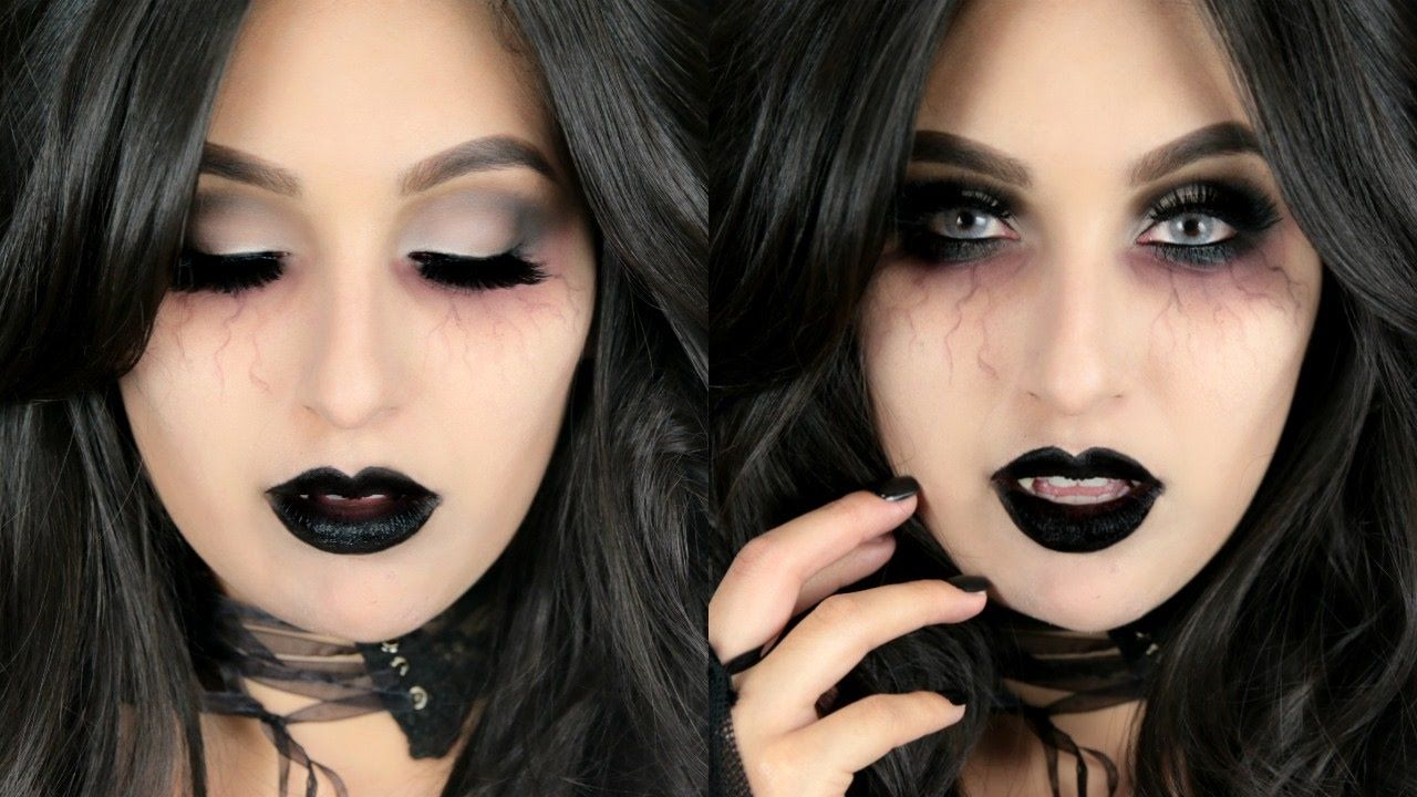 Hot vampire makeup halloween costumes pinterest todays halloween tutorial is on this sexy vampire makeup look i had so much fun filming this video for you guys so hopefully you love it jus baditri Image collections