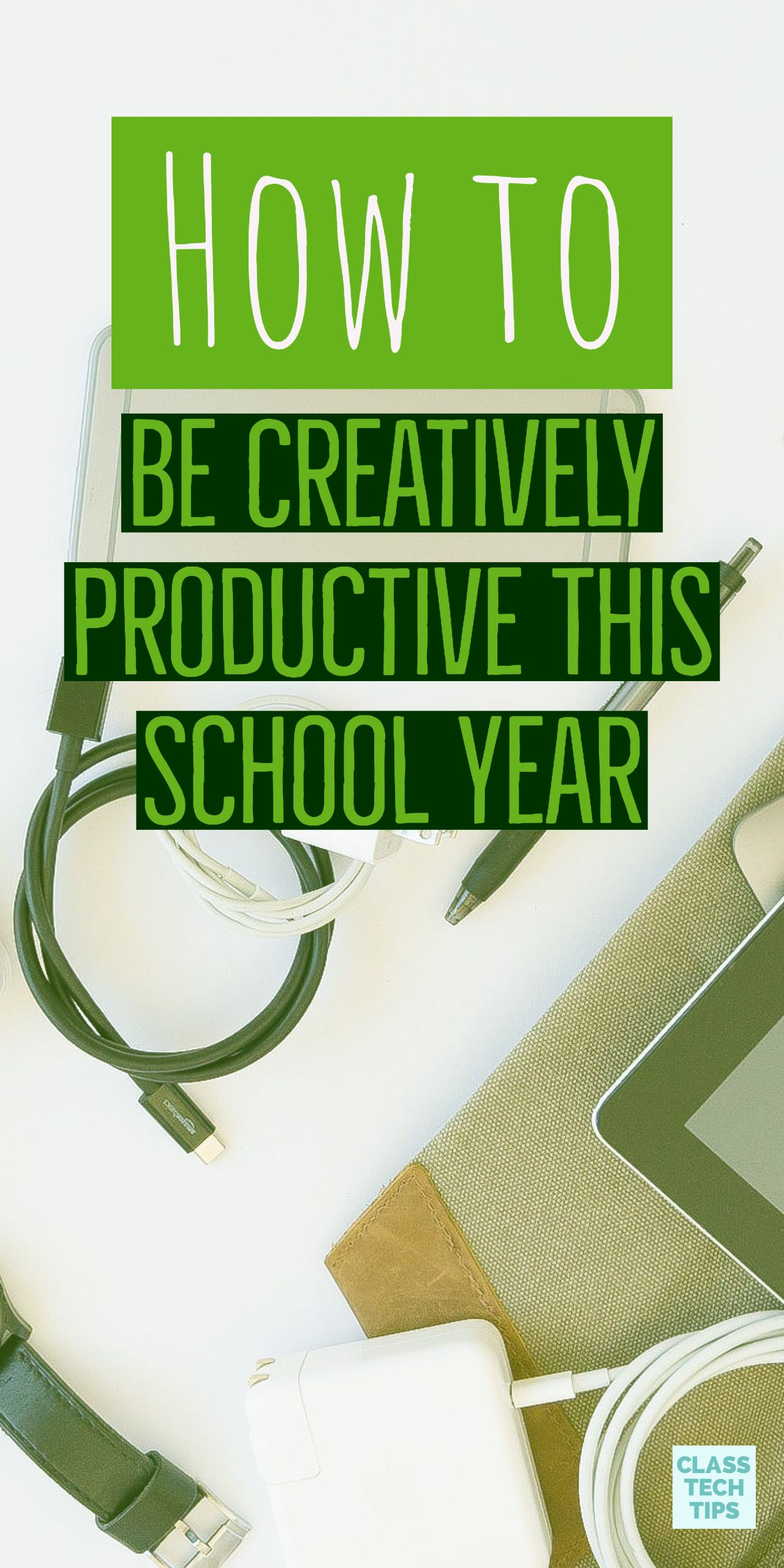 How To Be Creatively Productive This School Year With