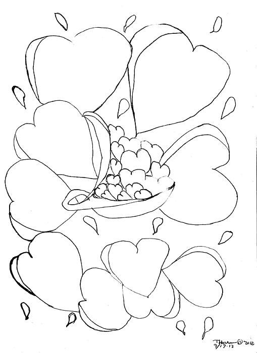 Hearts Wishes Drawing