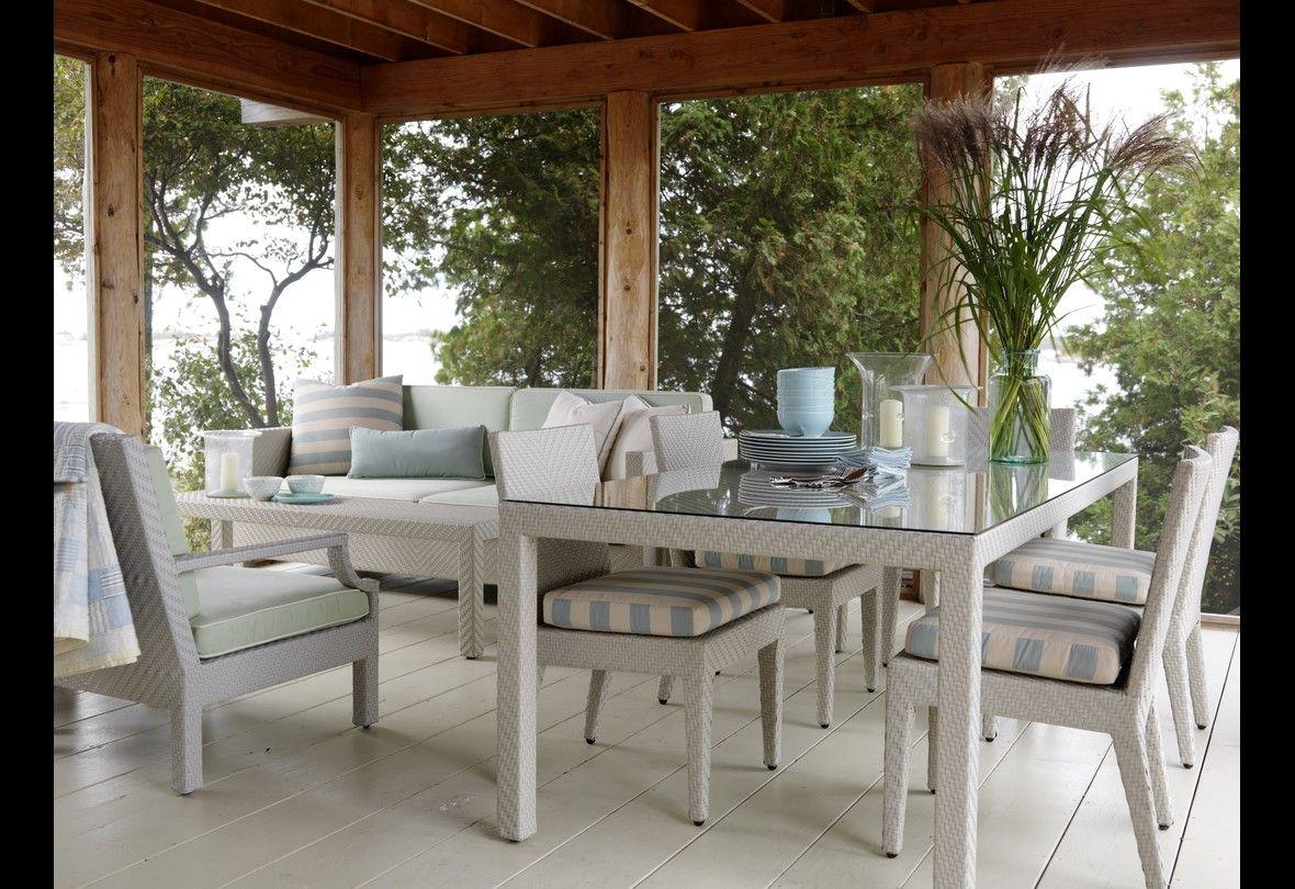 Unique Sunroom Dining Table