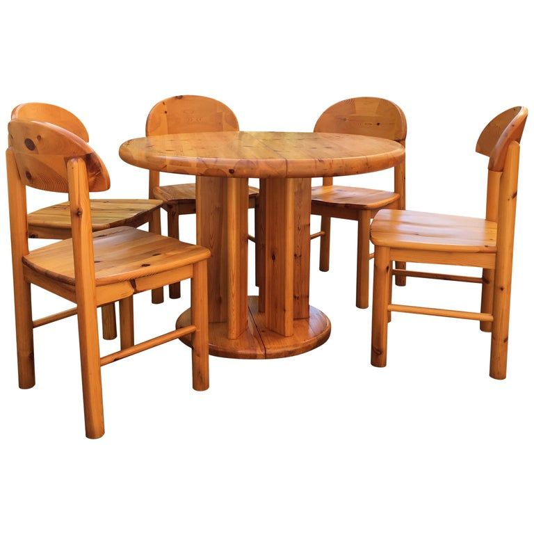 Rainer Daumiller Dining Room Set Solid Extension Dining Set