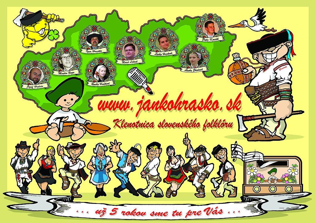 Pozývame Vás na oslavu 5. výročia vzniku projektu JankoHrasko.sk - OSLÁVME TO SPOLOČNE !!!! ;) ... http://www.jankohrasko.sk/clanok/16659/oslavme-5-vyrocie-vzniku-projektu-jankohraskosk-spolocne/