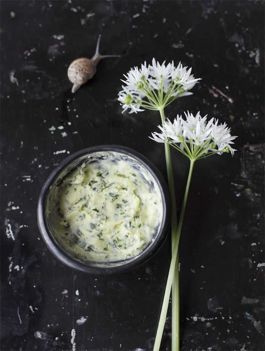 Ramson (wild garlic) Butter - so fabulous