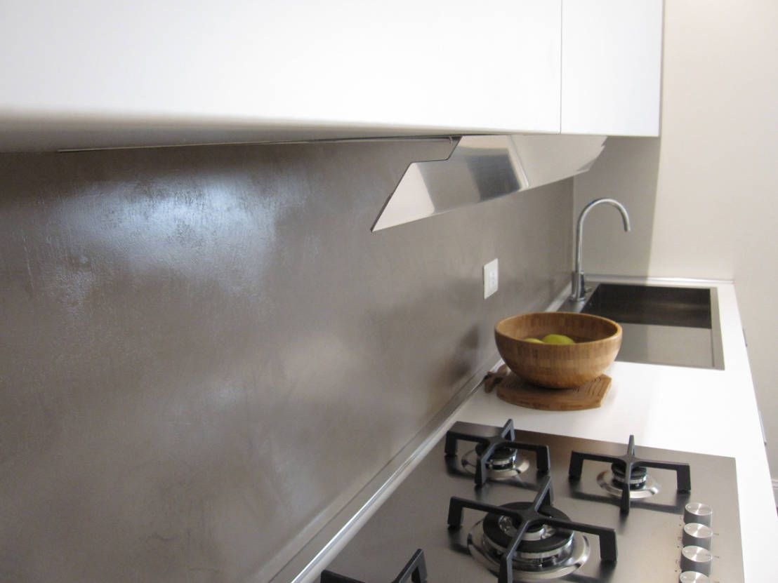 rivestimento resina cucina - Cerca con Google | rivestimenti ...