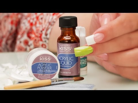 Diy Kiss Acrylic Kit A Pro Review Youtube In 2020 Diy Acrylic Nails Acrylic Nail Kit Acrylic Nail Set