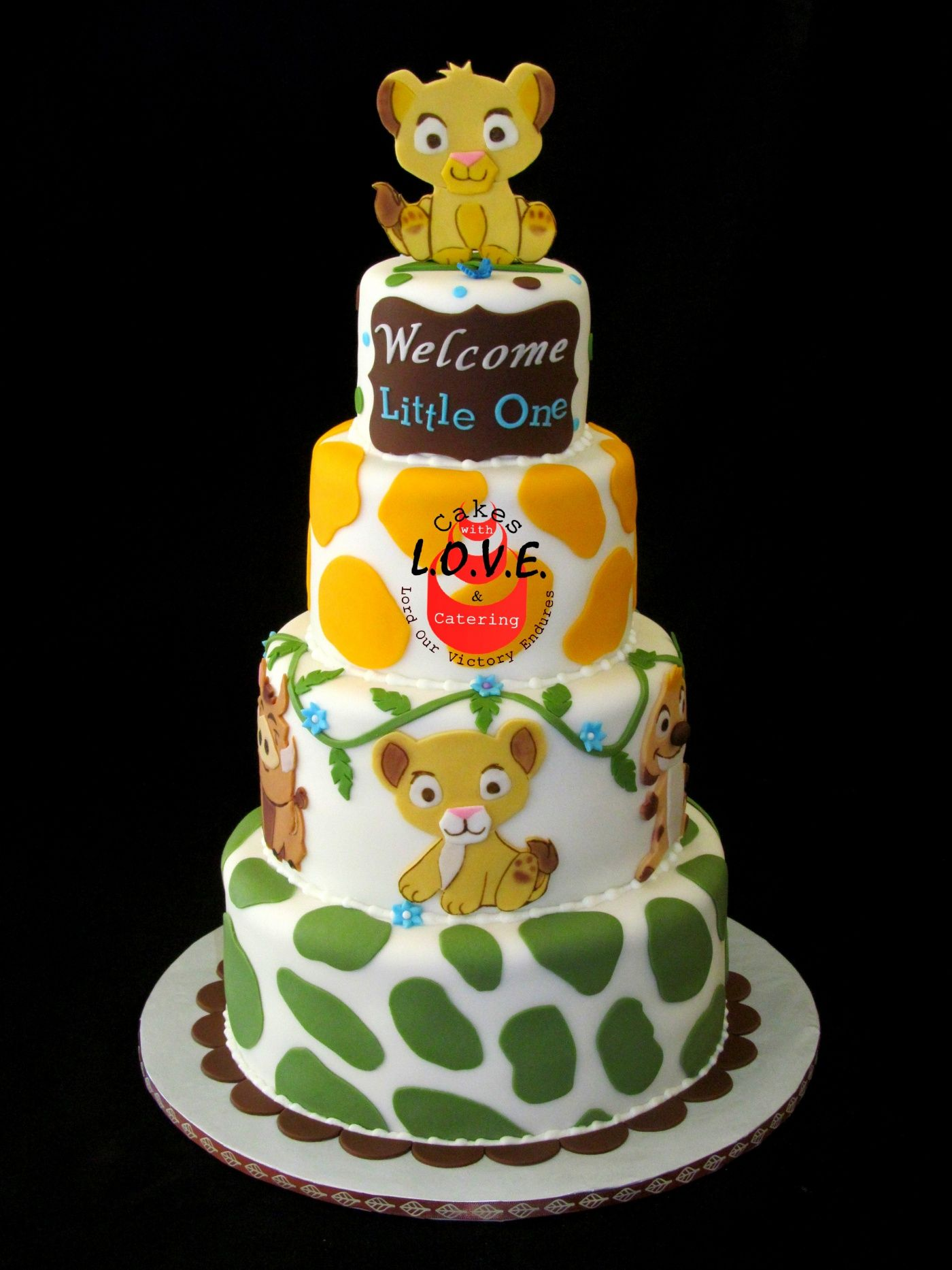 lion king cakes for baby shower - Google Search