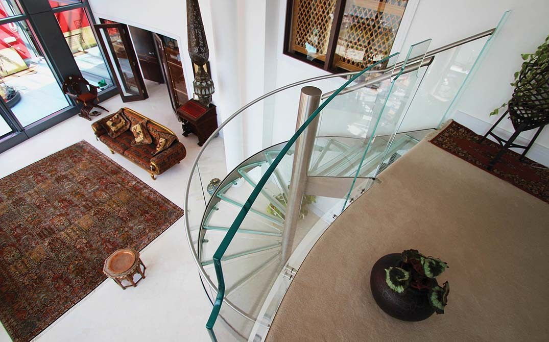 Best Glass Spiral Staircase Glass Staircase Staircase Railing Design Spiral Staircase 400 x 300