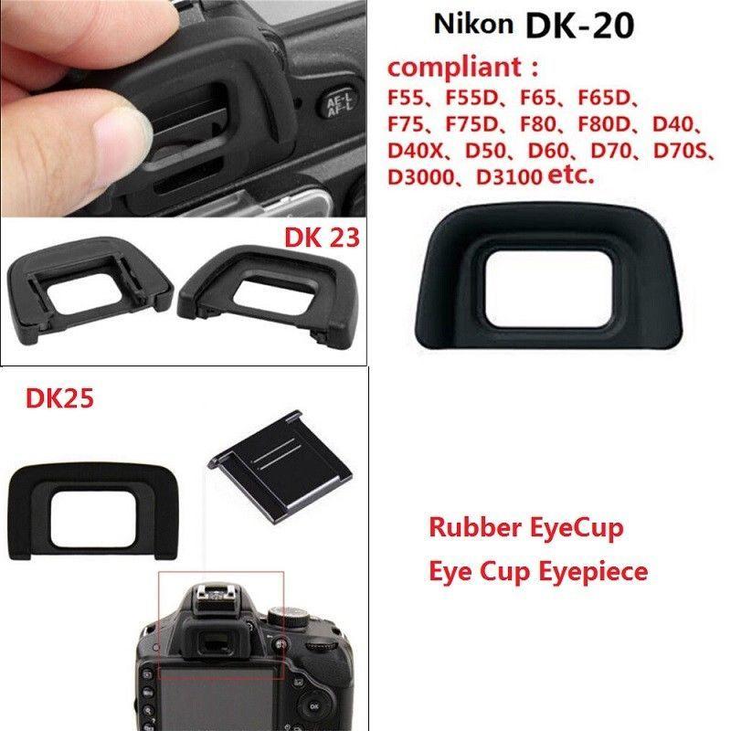 Nikon DK-20 Rubber Eyecup for D50 and D70S Digital SLR Cameras