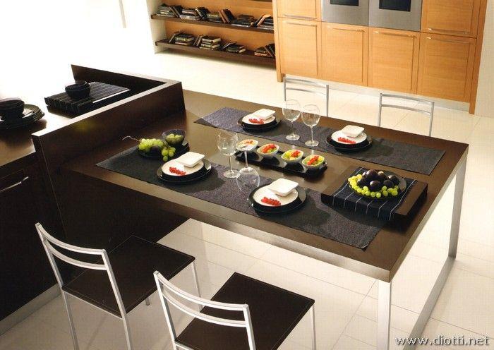 cucina/soggiorno senza tavolo da pranzo - cucine   cucine e ... - Tavoli Cucina Soggiorno