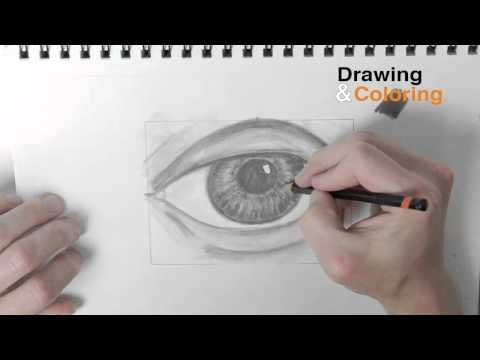part 3 how to draw an eye step by step finishing shading tone youtube