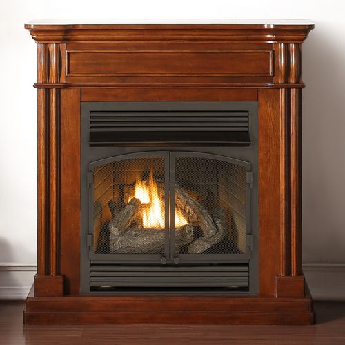 duluth forge dual fuel ventless fireplace 32000 btu remote