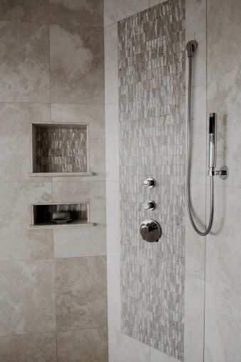 Beautiful Remodel Your Bathroom With These Artistic Shower Tile Ideas