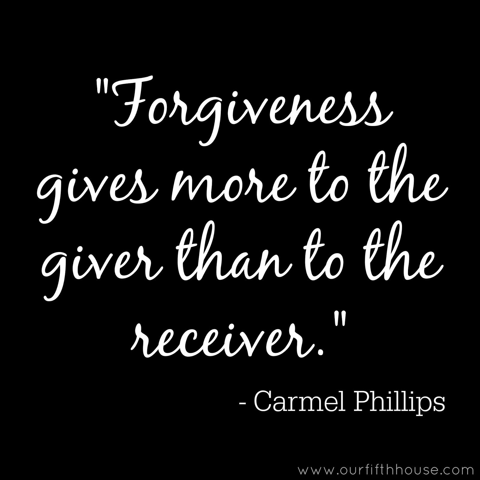 The Giver Book Quotes Forgiveness Gives More To The Giver Than To The Receiver