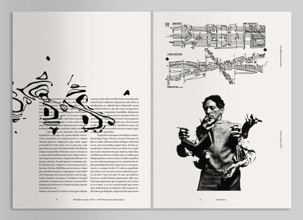 Geiger Magazine by Mads Thorsoe, via Behance