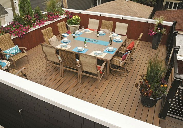 Backyard Deck Options