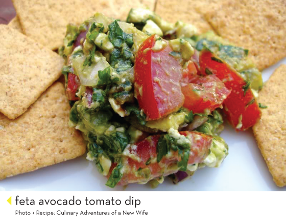every single one of these dips looks/sounds amazing - perfect for superbowl sunday crowd.