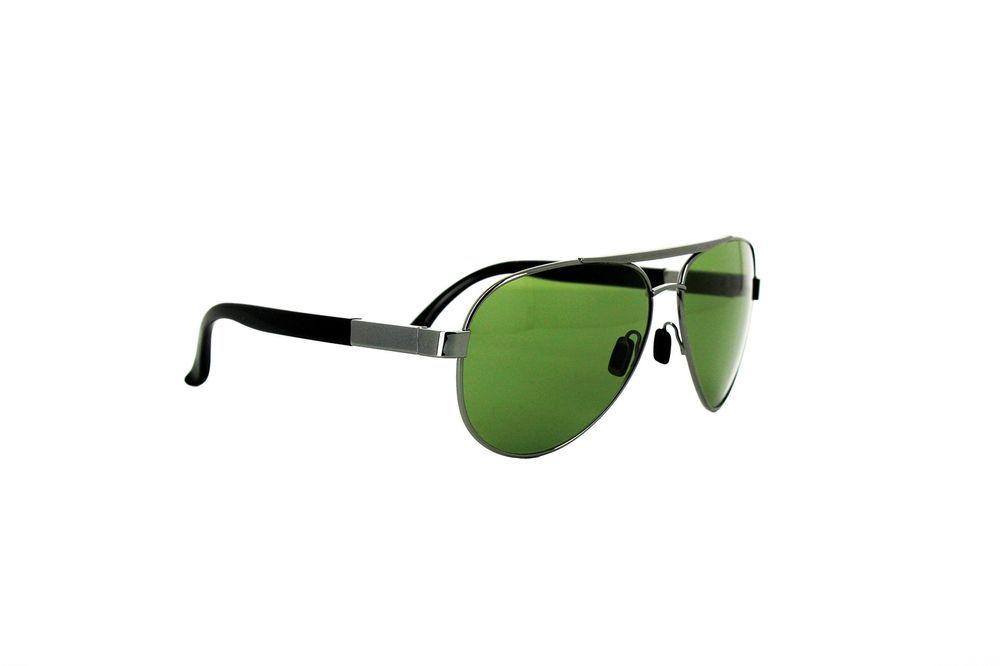 db79e3360206c eBay  Sponsored Remo Tulliani Men s Spite VIS111 Aviator SunglassesGunmetal  Frame Avocado Lens