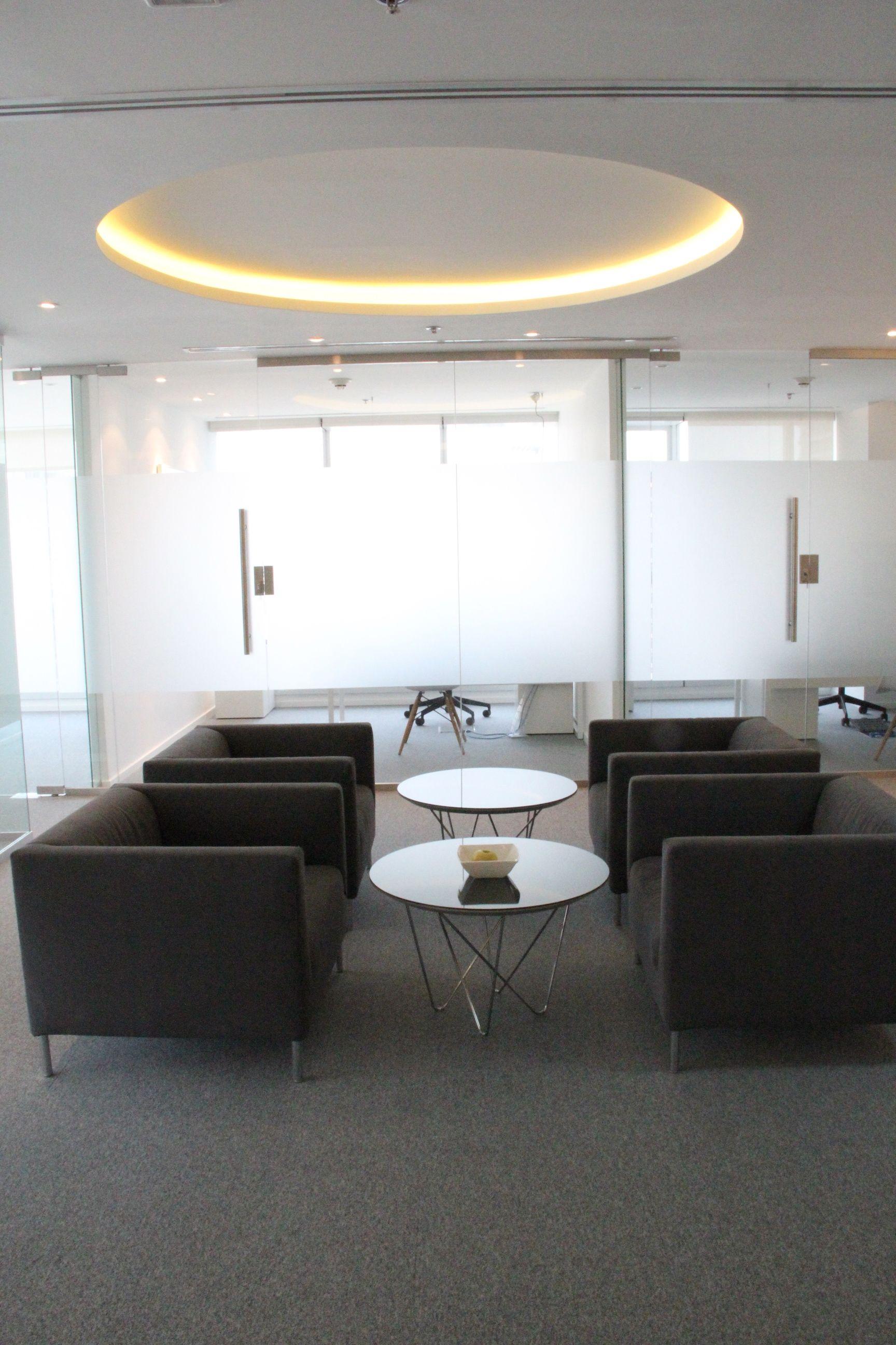 Corporate office Lounge design by Swiss Bureau Interior Design LLC