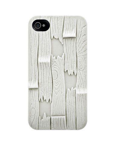 iPhone 4 case. wood plank
