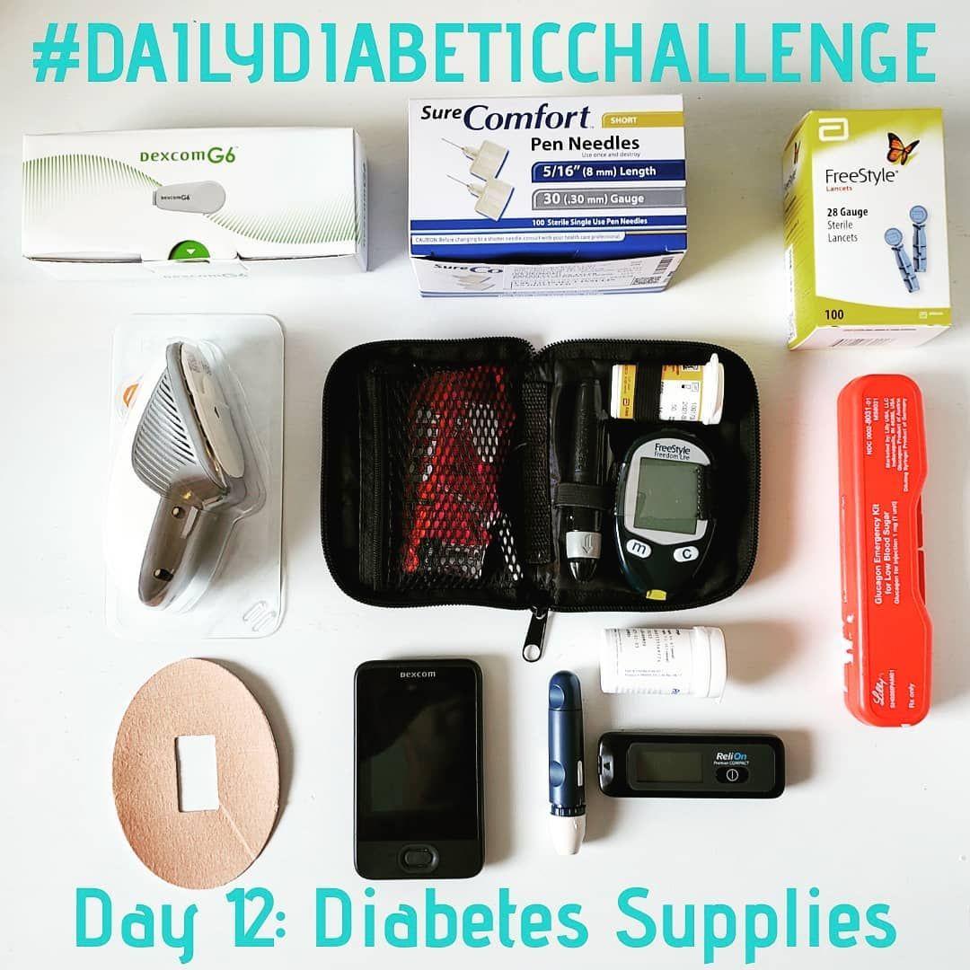 dailydiabeticchallenge Day 12 Diabetes Supplies These
