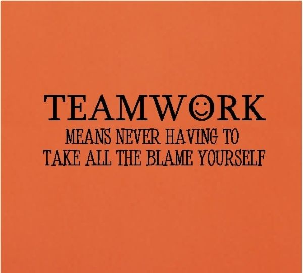 Funny Work Related Inspirational Quotes: Teamwork Quotes For The Office. QuotesGram By @quotesgram