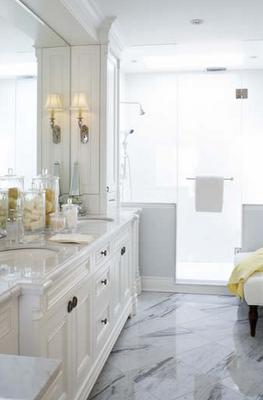 Sweet Chaos Home Finding Inspiration Master Bathroom Design White Bathroom Cabinets White Bathroom