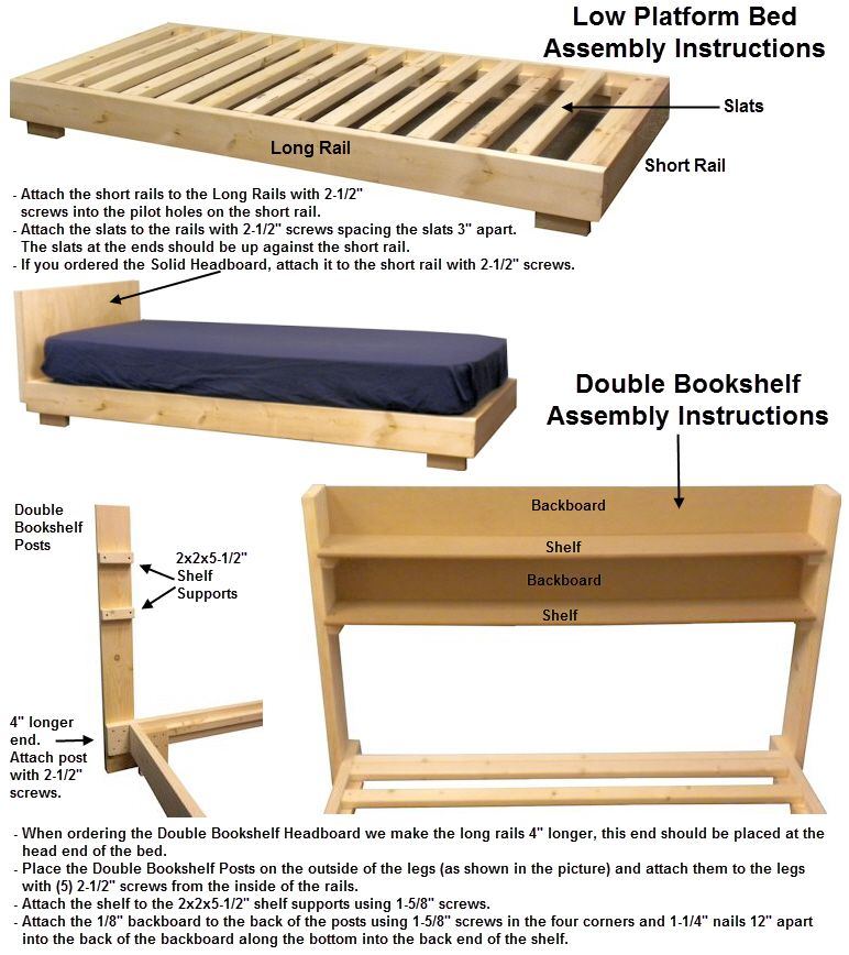 Low Platform Bed This Bed Is Similar To Teddy Duncans Bed On The