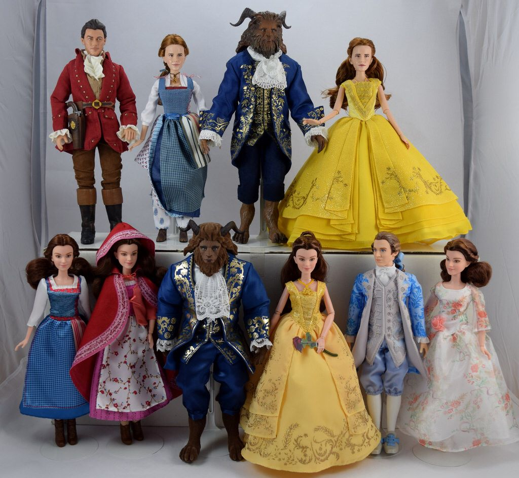 Disney Store Beauty and the Beast Live Action Film Belle Doll New with Box GIFT