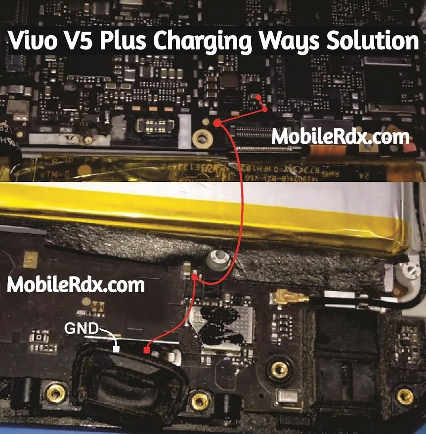 Vivo V5 Plus Charging Ways Not Charging Problem Solution