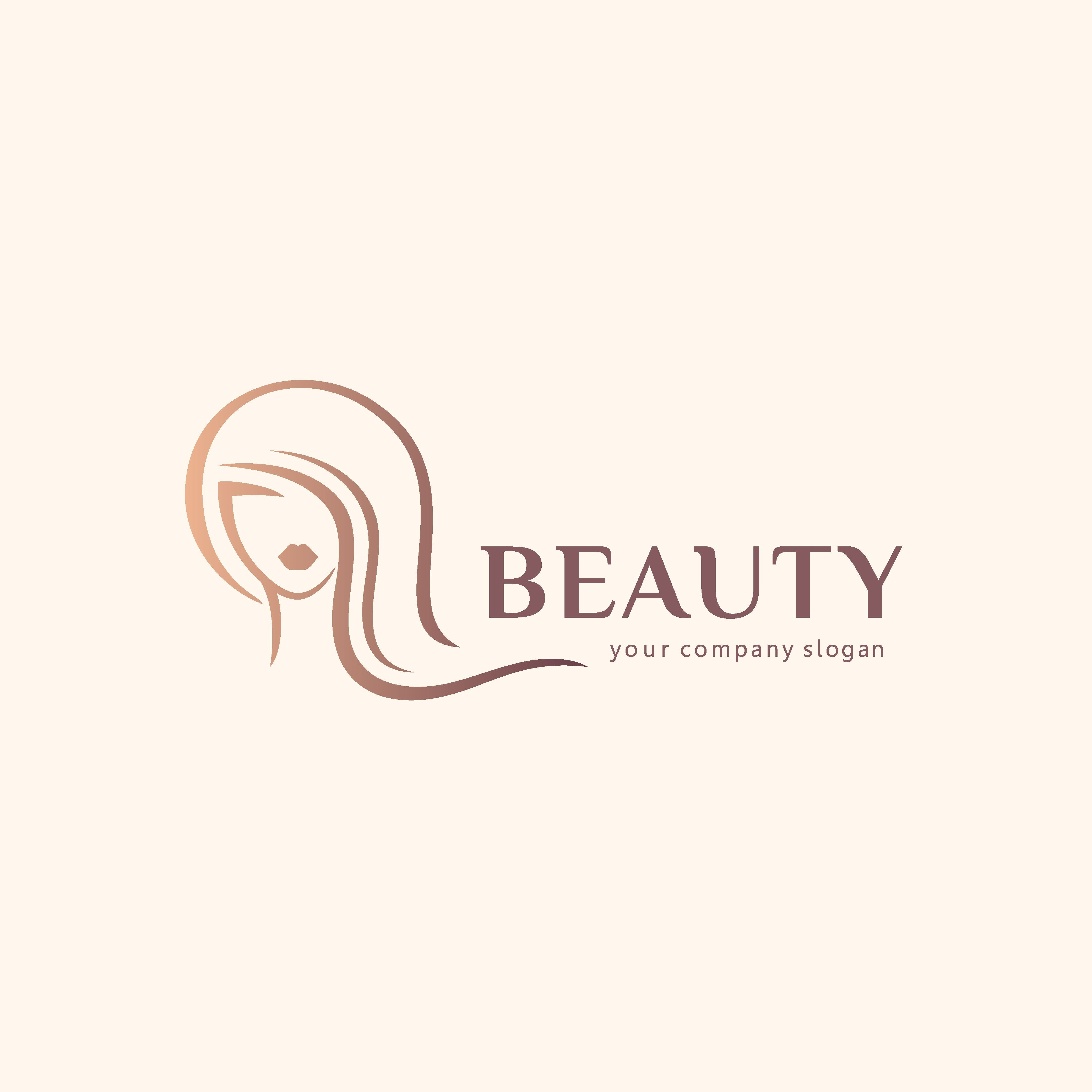 Cosmetic Vector Design Beauty Salon Logo Hair Forvector Logo Design For Beauty Salon Hair Salon Beauty Salon Logo Hair Salon Logos Hair Salon Business