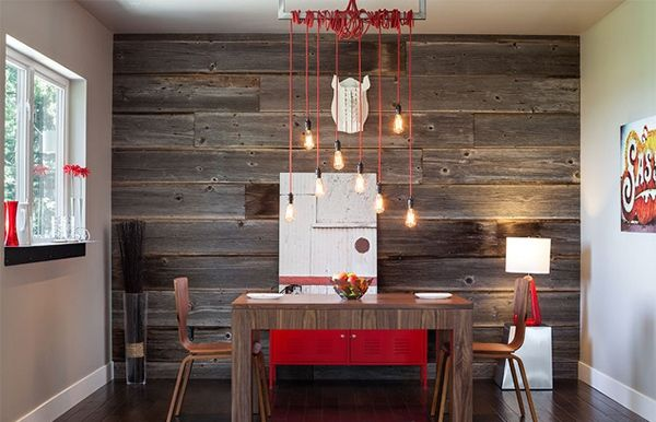 Love A Rustic Wood Wall. So Easy To Do With Our Faux Wood Panels - Rustic Wood Paneling For Walls WB Designs