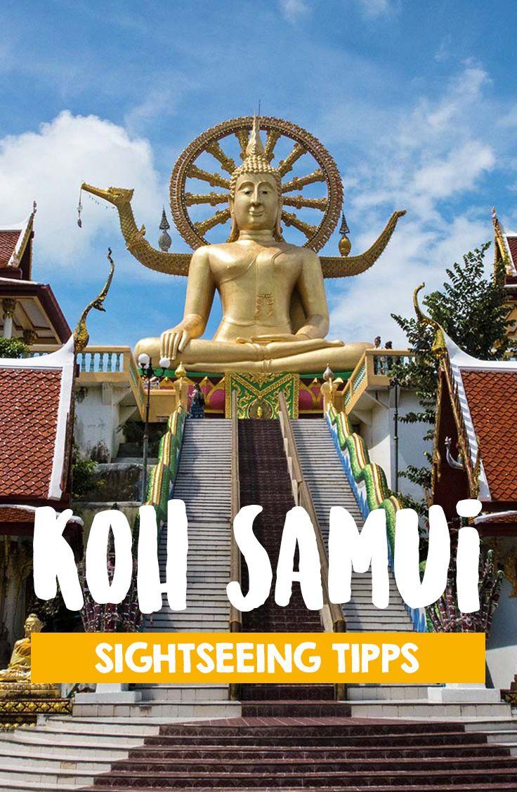 Der Big Buddha von Koh Samui eines der Wahrzeichen der tropischen Insel in Thailand