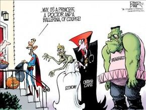 Happy Halloween. It's time for Obama to Go.