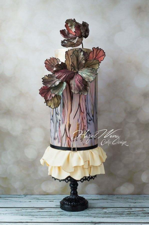 Elie Saab Fashion Inspired Cake for Cake Central - Cake by Hazel Wong Cake Design