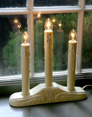 Christmas Window Candles | Lights in 3 and 5 Tiers | Christmas ...