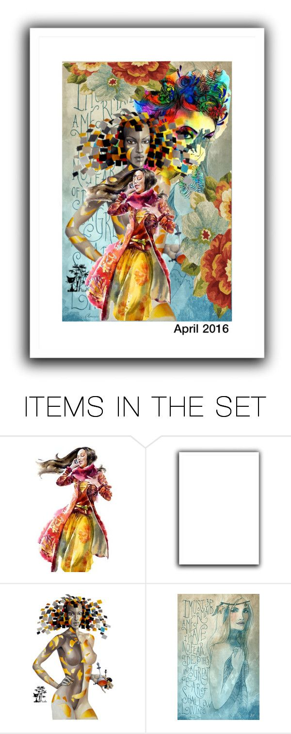 """""""Geen titel #26363"""" by lizmuller ❤ liked on Polyvore featuring art"""