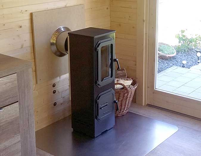 Ein Holzofen fürs Gartenhaus? Holzofen, Gartenhaus und