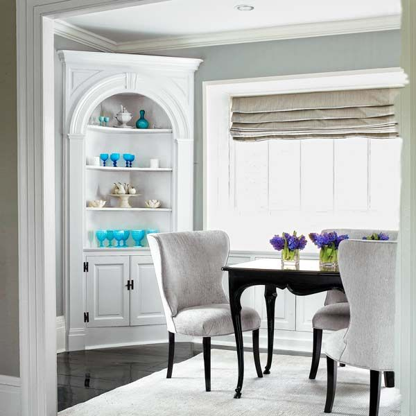 Beau Built Ins That Make Entertaining Easier. Corner Cabinet Dining RoomRoom ...
