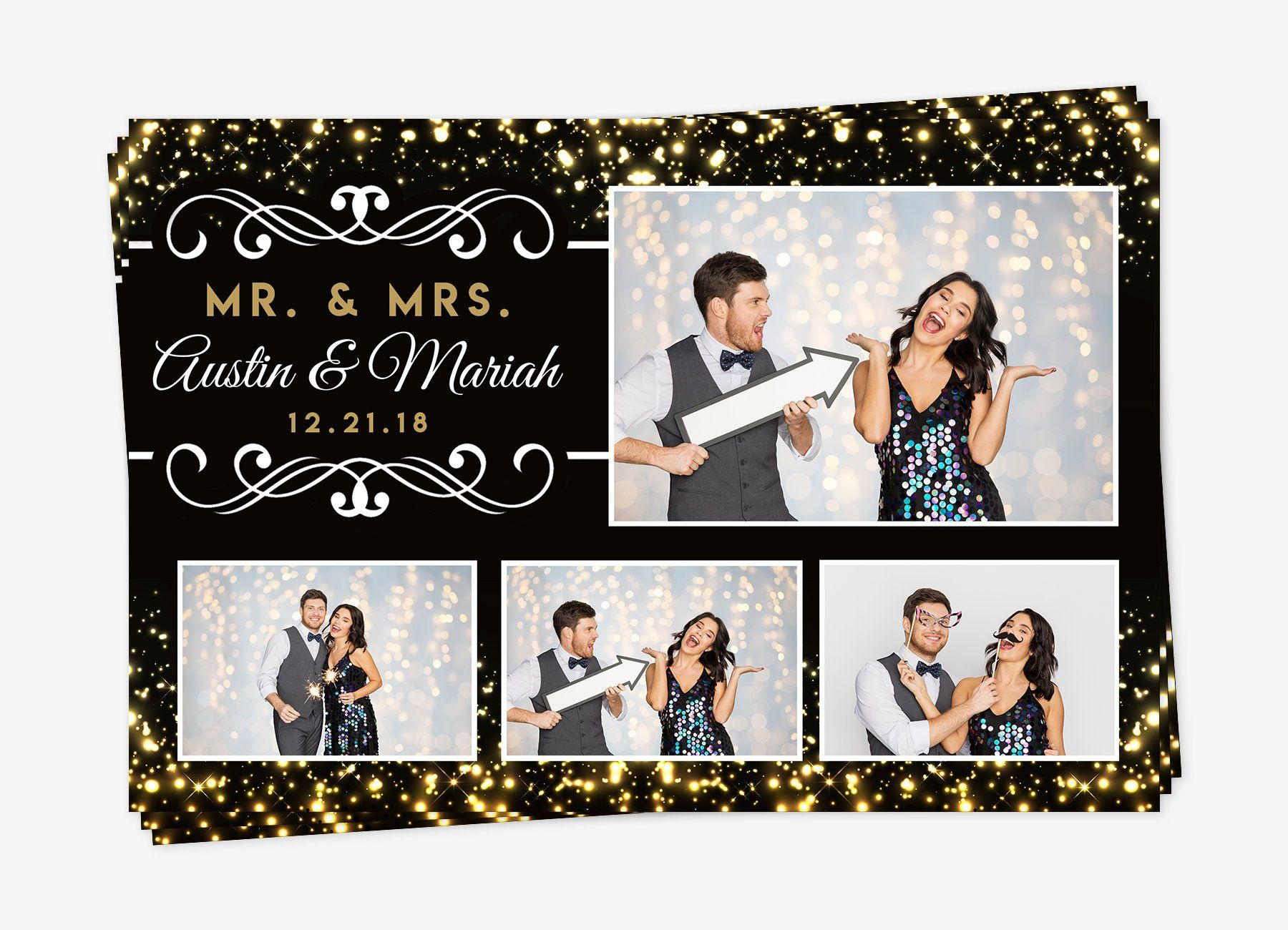 Wedding Photo Booth Template Photo Booth Template Gold Photo Booth Template Wedding Photo Booth Template 4x6 Gold Photo Booth Template Diy Wedding Photo Booth Wedding Photo Booth Photobooth Template