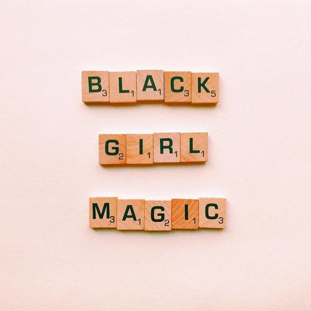 Black Girl Magic Printable Wall Art Quotes Black Girl Art Magic Aesthetic