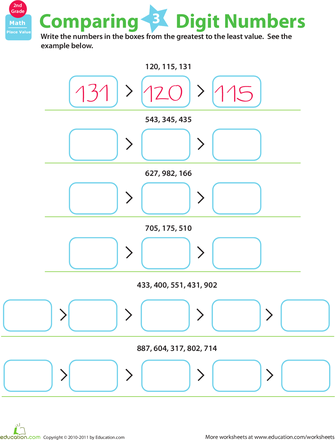 Pacman greater and less than- use with number cards | Math ...