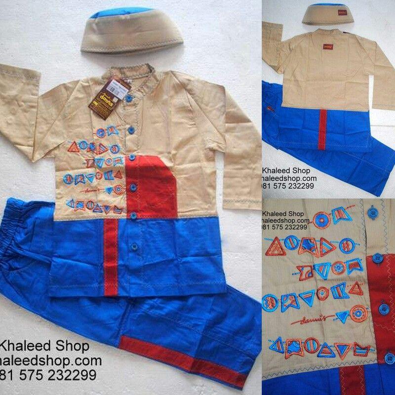 Baju Muslim Anak Cowok L6H26 Size 6 Anak Cowok Untuk Usia