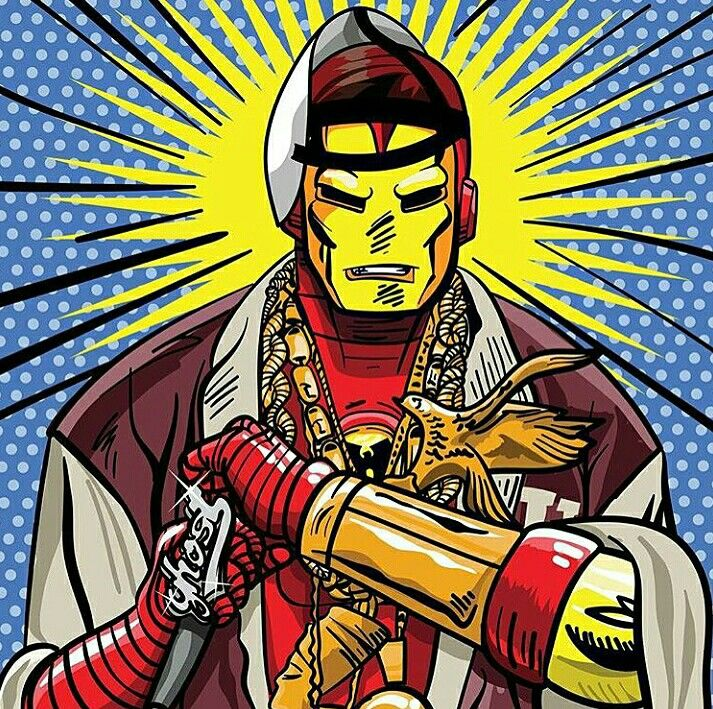 Iron Man as Ghostface   Toon it Up in 2019   Ghostface
